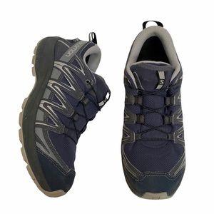 Salomon XA PRO Women's Waterproof Trail Running Hiking Shoes Blue 6